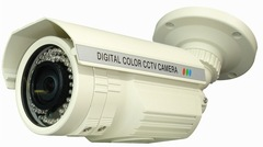 Hunt Electronics: HTC-T7AH550DID 5-50mm Infrared Bullet Camera