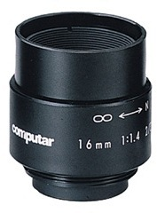 "Computar: M1614 2/3"" 16mm Monofocal Lens"