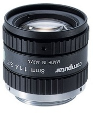 "Computar: H0514-MP 2/3"" 8mm Megapixel Lens"