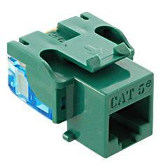 ICC Cabling Products: IC1078E5GN Cat5e Keystone Jack