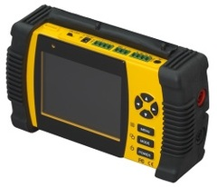 "Ganz: ZM-L35T 3.5"" Portable CCTV Test Monitor with Multimeter"