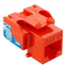 ICC Cabling Products: IC1078E5OR Cat5e Keystone Jack