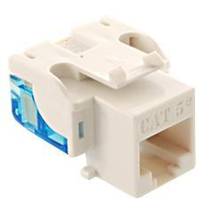 ICC Cabling Products: IC1078E5WH Cat5e Keystone Jack