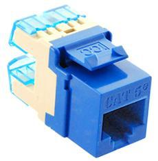 ICC Cabling Products: IC1078F5BL HD Cat5e Keystone Jack