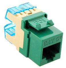 ICC Cabling Products: IC1078F5GN HD Cat5e Keystone Jack