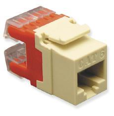 ICC Cabling Products: IC1078F5IV HD Cat5e Keystone Jack