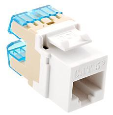ICC Cabling Products: IC1078F5WH HD Cat5e Keystone Jack