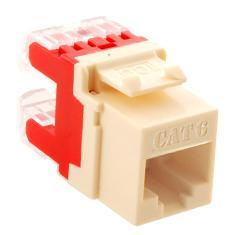 ICC Cabling Products: IC1078F6AL HD Cat 6 Keystone Jack