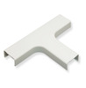 "ICC Cabling Products: ICRW44TEWH 1 3/4"" White Tee Fitting"