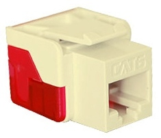 ICC Cabling Products: IC1078L6AL Cat 6 Keystone Jack