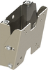 VMP: FP-SFT Small Flat Panel Flush TV Wall Mount with Tilt Silver