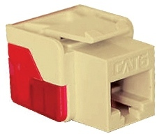ICC Cabling Products: IC1078L6IV Cat 6 Keystone Jack