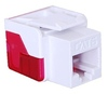 ICC Cabling Products: IC1078L6WH White Cat 6 Keystone Jack