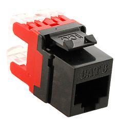 ICC Cabling Products: IC1078F6BK HD Cat 6 Keystone Jack