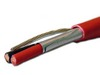 ICC Cabling Products: 18-2 Shielded Fire Alarm Wire Cable Solid FPLR Red 1000ft