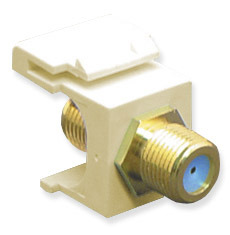 ICC Cabling Products: IC107B9GAL F Connector Keystone Jack