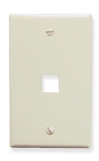 ICC Cabling Products: IC107F01AL Keystone Wall Plate