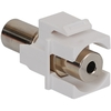 ICC Cabling Products: IC107SACWH 3.5MM Stereo Audio Keystone Coupler