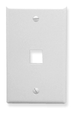 ICC Cabling Products: IC107F01WH Keystone Wall Plate