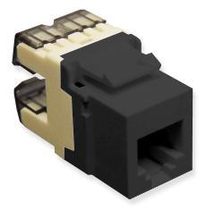 ICC Cabling Products: IC1076F0BK HD Voice RJ11 Keystone Jack