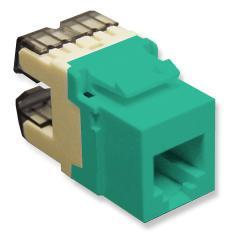 ICC Cabling Products: IC1076F0GN HD Voice RJ11 Keystone Jack
