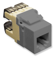 ICC Cabling Products: IC1076F0GY HD Voice RJ11 Keystone Jack