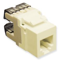 ICC Cabling Products: IC1076F0IV HD Voice RJ11 Keystone Jack
