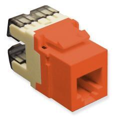 ICC Cabling Products: IC1076F0RD HD Voice RJ11 Keystone Jack