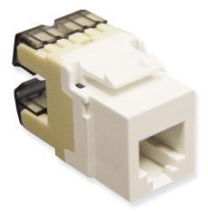 ICC Cabling Products: IC1076F0WH HD Voice RJ11 Keystone Jack