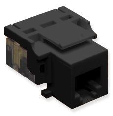 ICC Cabling Products: IC1076V0BK Voice RJ11 Keystone Jack