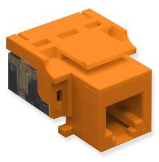 ICC Cabling Products: IC1076V0OR RJ11 Voice Keystone Jack