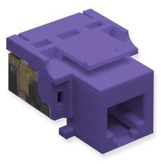ICC Cabling Products: IC1076V0PR RJ11 Voice Keystone Jack