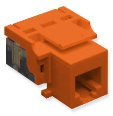 ICC Cabling Products: IC1076V0RD RJ11 Voice Keystone Jack