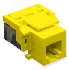 ICC Cabling Products: IC1076V0YL RJ11 Voice Keystone Jack