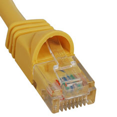 ICC Cabling Products: ICPCSK03YL White 3 ft Cat 6 Patch Cable