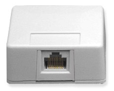 ICC Cabling Products: 8P8C Jack Surface Mount Box