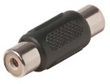 251-115: RCA Coupler Jack to Jack Adapter