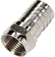 200-035: RG6 Coaxial Cable Crimp F Connector