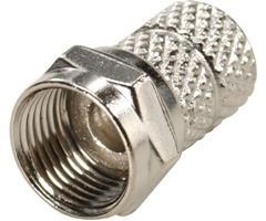 200-040: RG59 Coaxial Cable Twist-On F Connector