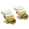 ICC Cabling Products: IC107PMGAL Binding Post Keystone Jacks