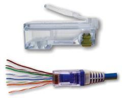 Platinum Tools: 100010C Cat 6 EZ-RJ45 Modular Connectors