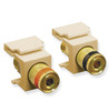 ICC Cabling Products: IC107PMGIV Binding Post Keystone Jacks