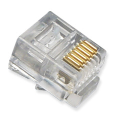 ICC Cabling Products: ICMP6P6SRD Modular RJ12 Connectors