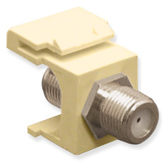 ICC Cabling Products: IC107B5FIV F Connector Keystone Jack