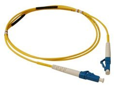 ICC: 2 Meter LC-LC Simplex Single Mode Fiber Patch Cable