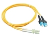 ICC: 3 Meter LC-SC Duplex Single Mode Fiber Patch Cable